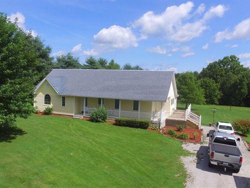 3 Bed 2.5 Bath Home 3 Acres : Liberty : Casey County : Kentucky