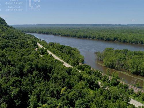 Lot Mississippi River Genoa, WI : Genoa : Vernon County : Wisconsin