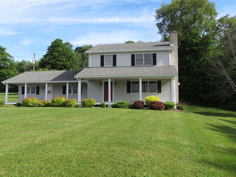 Country Home & Hunting Land Auction : Wellsboro : Tioga County : Pennsylvania