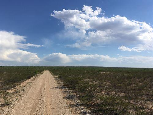 North Fort Stockton, Texas Acreage : Fort Stockton : Pecos County : Texas