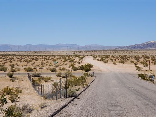 Beautiful Land, Ez Access, $539/Mo : Newberry Springs : San Bernardino County : California