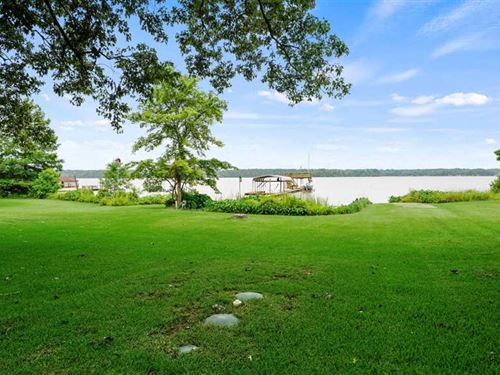 Two Waterfront Lots With 1500 SF : Henderson : Rusk County : Texas