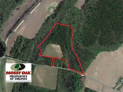 Under Contract, 15 Acres of Farm : Carrsville : Isle Of Wight County : Virginia
