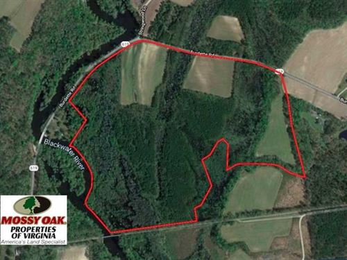 Under Contract, 127 Acres of Farm : Carrsville : Isle Of Wight County : Virginia
