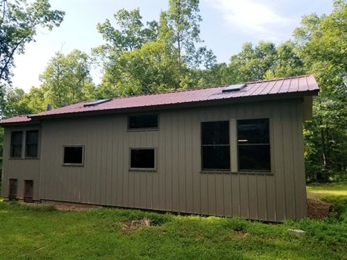 Cabin & 10 Ac Walking Distance To : Mountain View : Shannon County : Missouri