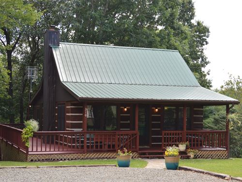 Quaint Cabin Independence, VA 2 BR : Independence : Grayson County : Virginia