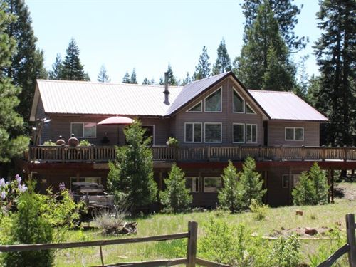 3,000 Sq, Ft, Home 4.5 Acres Modoc : Alturas : Modoc County : California