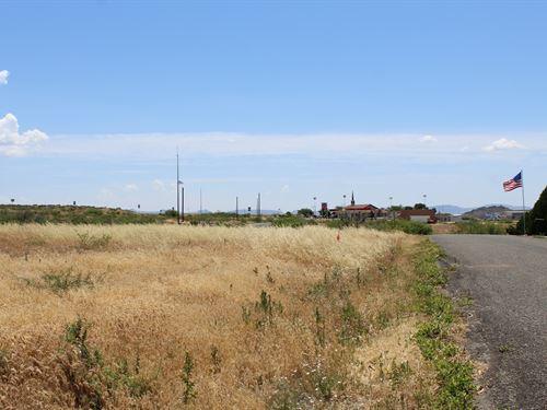 Residential Building Site Spring : Spring Valley : Yavapai County : Arizona