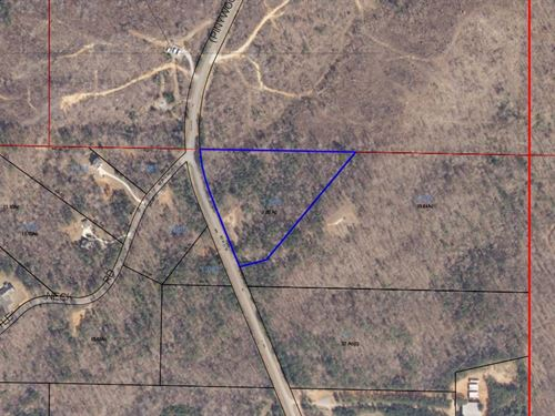 7.85 +/- Acres Near Wind Creek : Alexander City : Tallapoosa County : Alabama