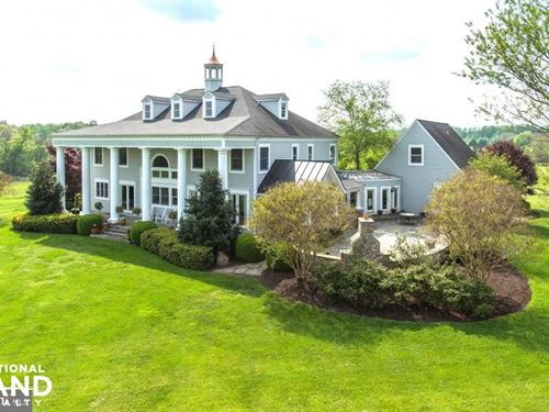 Home Equestrian Property Hunt Count : Marshall : Fauquier County : Virginia
