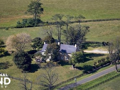 Historic Home With Acreage Near Mid : Paris : Fauquier County : Virginia
