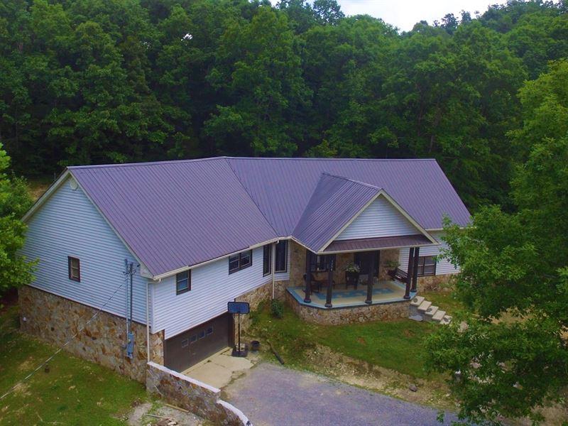 5 Bedroom 4 Bath Country Home-2 : Dunnville : Casey County : Kentucky
