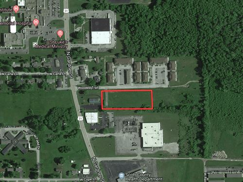 2+/- Acre Res, Dev, Land : Scottsburg : Scott County : Indiana