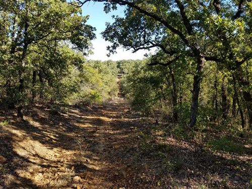 117 Acres of Gorgeous And Untamed : Jacksboro : Jack County : Texas