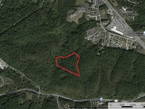 Unrestricted Timberland For Sale : Radford : Virginia