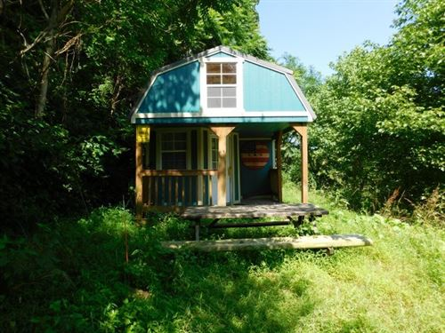 Land With Cabin, Levels, WV : Levels : Hampshire County : West Virginia