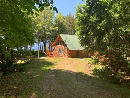 Off-Grid Recreational Camp : Lakeville : Penobscot County : Maine