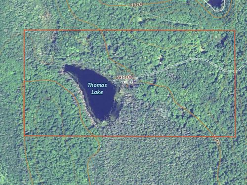 Hunting Land With 10 Acre Lake : Sidnaw : Houghton County : Michigan