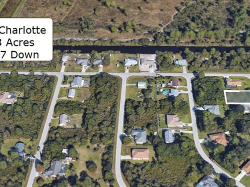 .23 Acre On Paved Road In Charlotte : Englewood : Charlotte County : Florida