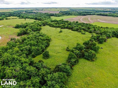 Duck Creek Farm, Hunt, Build : Yates Center : Woodson County : Kansas