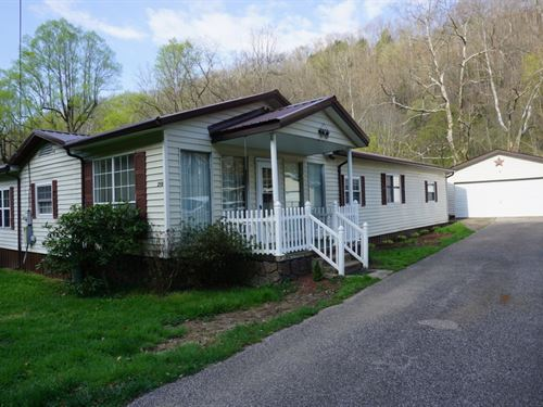 Over 3/4 Ac River Access, Rancher : Procious : Clay County : West Virginia