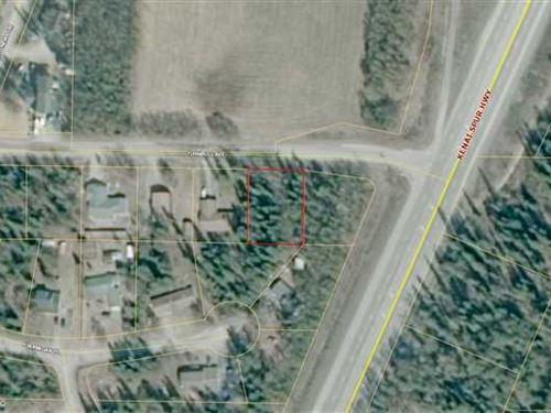 Prime Lot Just Off The Spur Highwa : Soldotna : Kenai Peninsula Borough : Alaska