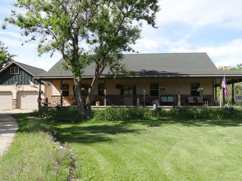 Montana Home Warm Spring Creek : Lewistown : Fergus County : Montana