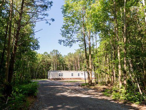 Single Wide 10.5 Acres Perquimans : Hertford : Perquimans County : North Carolina