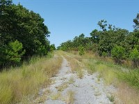 113 Acres Valley View Hunting Ranch : Wister : Le Flore County : Oklahoma