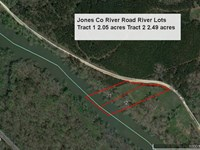 Most Affordable River Lots Around : Juliette : Jones County : Georgia