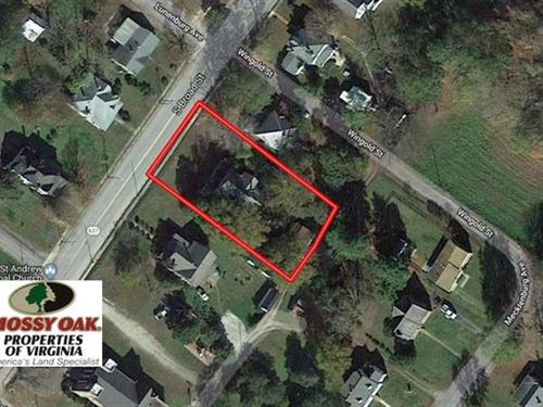 Reduced, 1/2 Acre of Residential : Kenbridge : Lunenburg County : Virginia