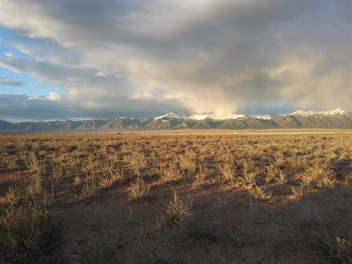 40 Acre Ranch With 360 Mountn Views : Moffatt : Saguache County : Colorado