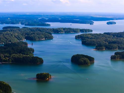 Beautiful Lake Lot, Boat Slip : Monticello : Jasper County : Georgia