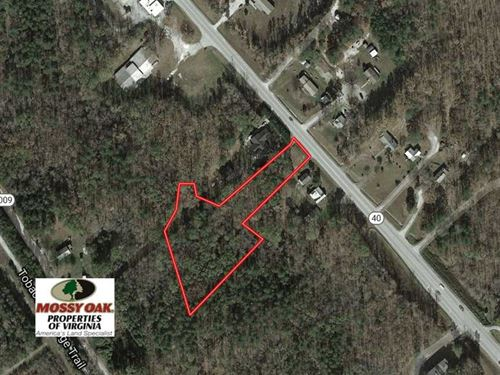 Reduced, 2.06 Acres of Residentia : Victoria : Lunenburg County : Virginia