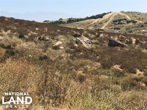 Exceptional Homesite Develop Land : Moreno Valley : Riverside County : California