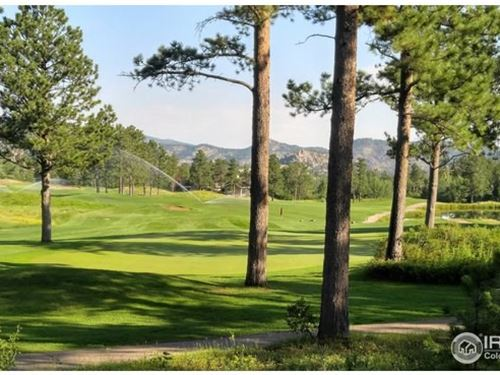 Beautiful Lot Fox Acres Golf : Red Feather Lakes : Larimer County : Colorado