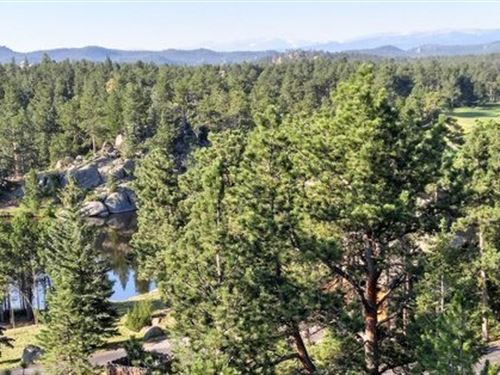 Lot in Gated Mountain Community : Red Feather Lakes : Larimer County : Colorado