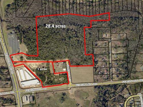 28.4 Acres In Houston County : Warner Robins : Houston County : Georgia