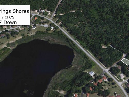 Exclusive .26 Acre On Paved Road : Ocala : Marion County : Florida