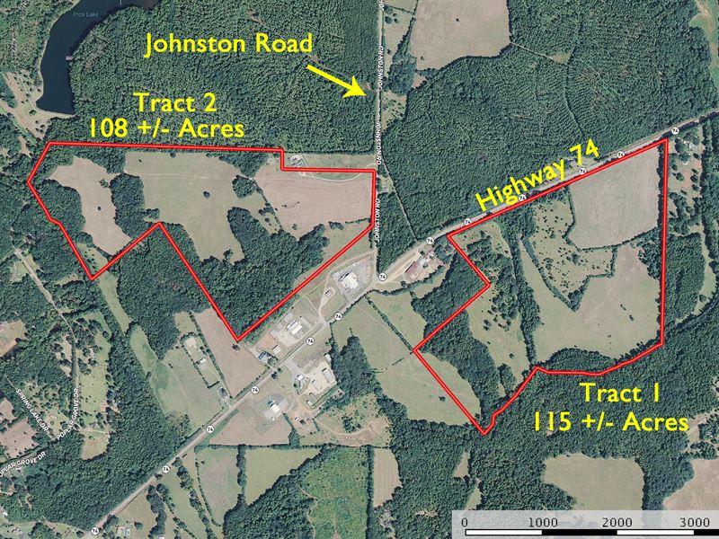 Sealed Bid-Surplus Land Liquidation : Thomaston : Upson County : Georgia