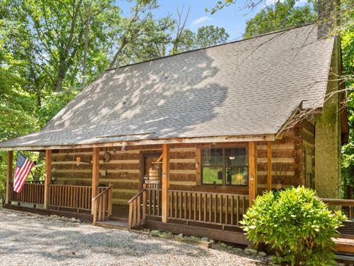 Peaceful North Georgia Cabin : Ringgold : Catoosa County : Georgia