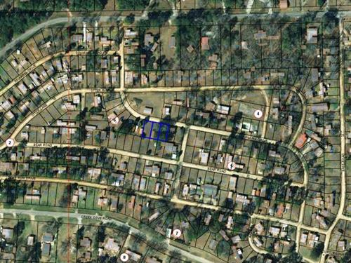 Three Vacant Residential Lots in : Eufaula : Barbour County : Alabama