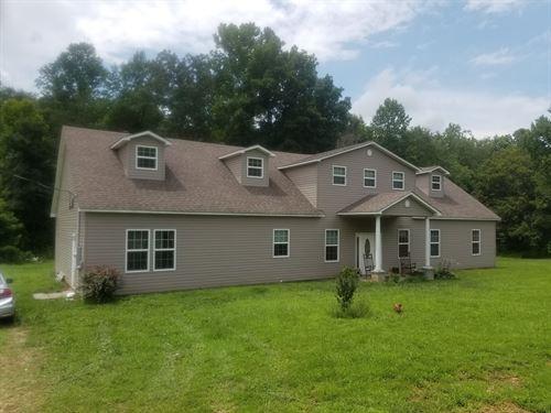 TN Home 6 Bedroom 2 Bathroom 10.6 : Waynesboro : Wayne County : Tennessee