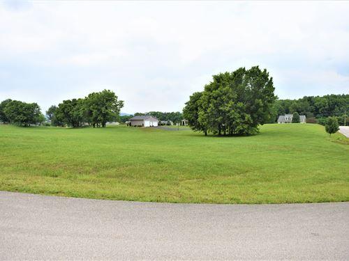 Large Corner Lot Wellington : Cave City : Barren County : Kentucky