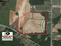 26.8 Acres of Farm And Timber Land : Middlesex : Nash County : North Carolina