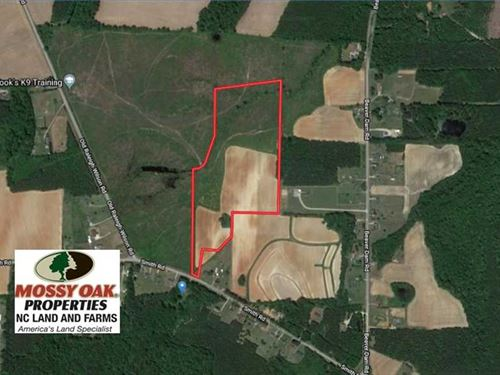 29.4 Acres of Farm And Timber And : Middlesex : Nash County : North Carolina