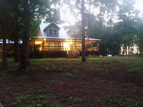 Home With 20 Acres : Lineville : Clay County : Alabama