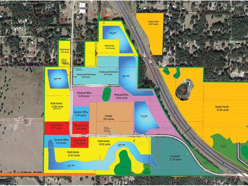 Residential & Commercial Land : Mount Dora : Lake County : Florida