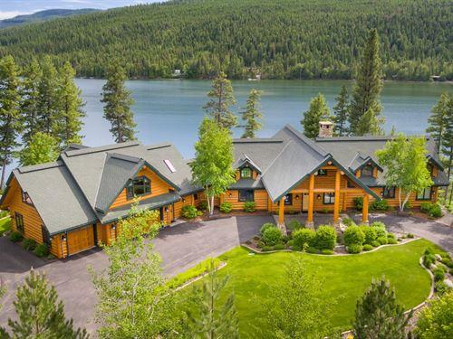 Whispering Swan Cove : Bigfork : Lake County : Montana