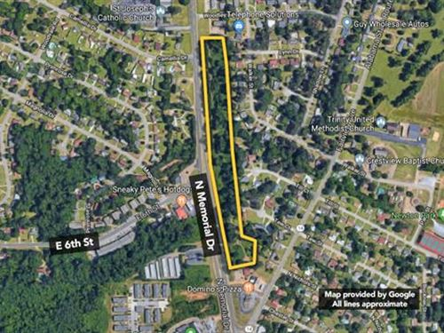 6.6 ac of Vacant Commercial : Prattville : Autauga County : Alabama